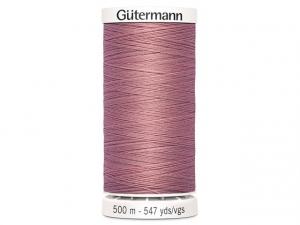Fil à coudre Gütermann 500m col : 473 lilas