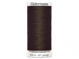 Fil à coudre Gütermann 500m col : 694 marron