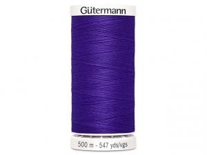 Fil à coudre Gütermann 500m col : 810 violet