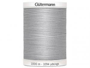 Fil à coudre Gütermann 1000m col : 038 gris souris