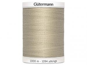Fil à coudre Gütermann 1000m col : 722 beige