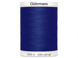 Fil à coudre Gütermann 1000m col : 310 bleu