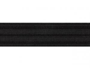 Élastique caleçon 25 mm noir