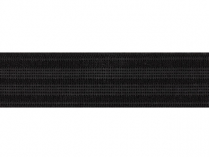 Élastique caleçon 30 mm noir