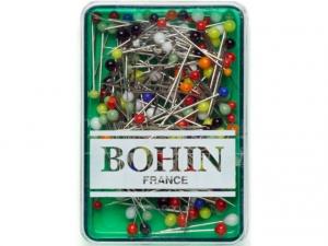 80 Épingles tête de verre assorties 30 x 0,60 mm Bohin