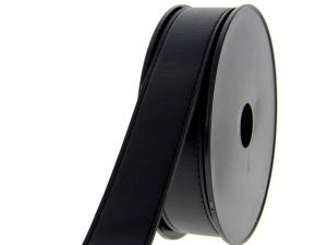 sangle simili-cuir 30 mm Noir