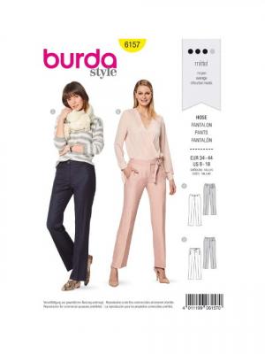 Patron Burda 6157 Pantalon