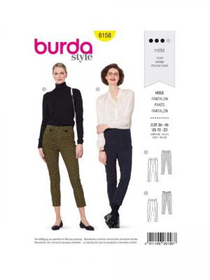 Patron Burda 6158 Pantalon