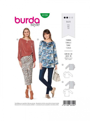 Patron Burda 6159 Tunique