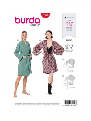 Patron Burda 6161 Kimono