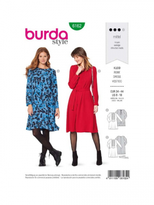 Patron Burda 6162 Robe