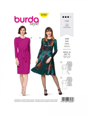 Patron Burda 6164 Robe