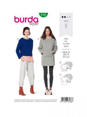 Patron Burda 6168 Pull