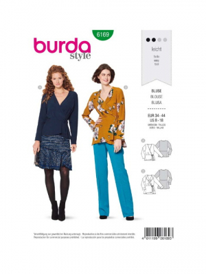 Patron Burda 6169 Blouse