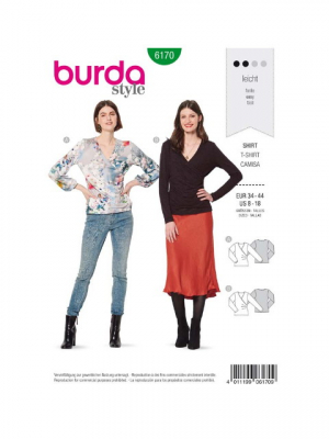 Patron Burda 6170 Tee-shirt
