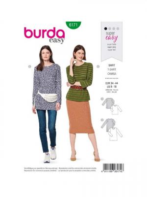Patron Burda 6171 Tee-shirt