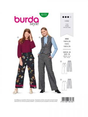 Patron Burda 6173 Pantalon