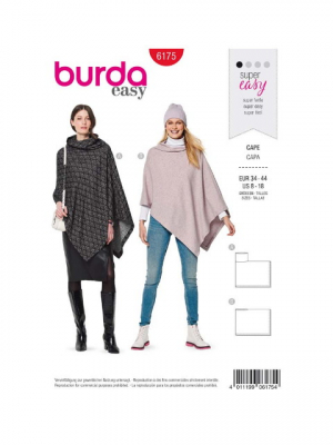 Patron Burda 6175 Cape