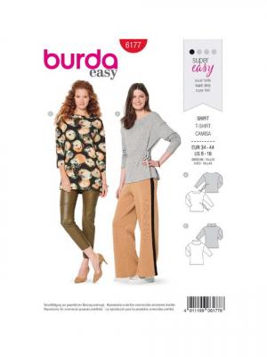 Patron Burda 6177 Tee-shirt