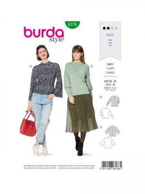 Patron Burda 6178 Tee-shirt