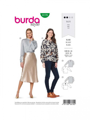 Patron Burda 6179 Blouse