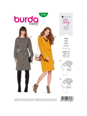 Patron Burda 6180 Robe