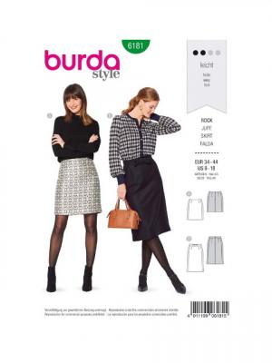 Patron Burda 6181 Jupe