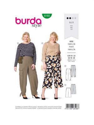 Patron Burda 6193 Pantalon