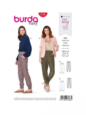 Patron Burda 6198 Blouse