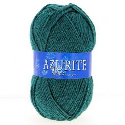 Fil à tricoter azurite Vert Pétrole