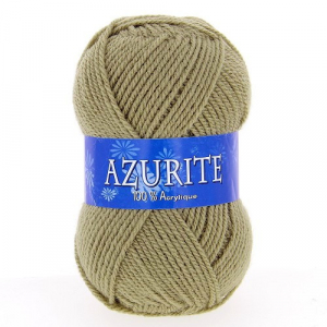 Fil à tricoter azurite Beige
