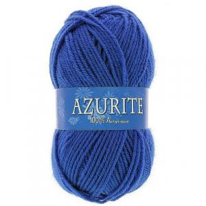 Fil à tricoter azurite Bleu