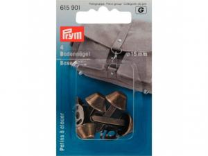Patins à clouer bronze pour sacs 15 mm