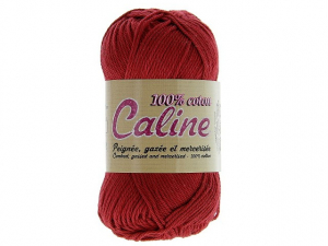 Coton Caline Rouge foncée