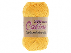 Coton Caline Jaune