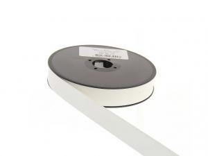 biais simili cuir 20 mm Blanc