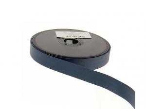 biais simili cuir 20mm Bleu pétrole