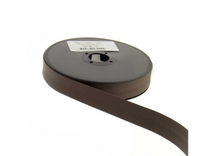 biais simili cuir 20 mm Marron