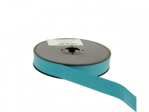 biais simili cuir 20 mm Bleu cyan