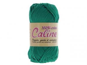 Coton Caline Bleu vert