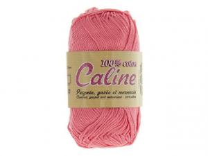 Coton Caline Bleu Rose