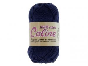 Coton Caline Bleu marine