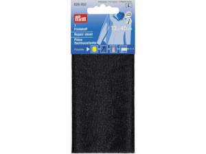Thermocollant percale Noir Tissu léger