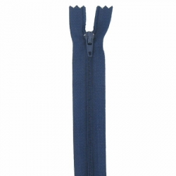 Fermeture 18cm bleu marine
