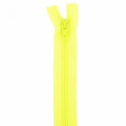 Fermeture 18cm jaune