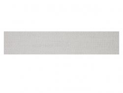 Sergé coton 10 mm blanc