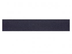 Sergé coton 15 mm marine