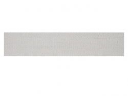 Sergé coton 20 mm blanc