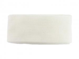 Bord côte ceinture blanc