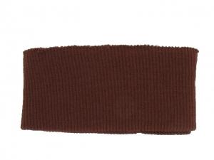 Bord côte ceinture cuir